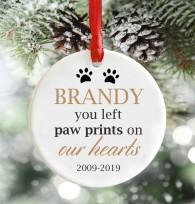 Pet Memorial Christmas Decoration