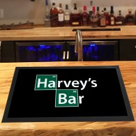 Personalised Breaking Bad elements bar runner mat