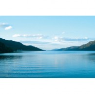 Loch ness canvas art