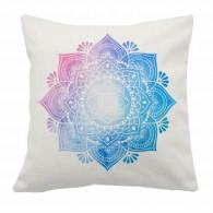 Mandala boho Ombre linen cushion