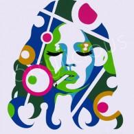 Smokescreen pop art canvas