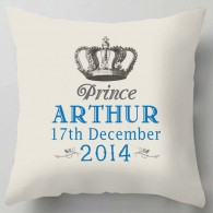 Personalised Prince cushion