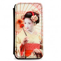 Personalised faux leather photo phone case