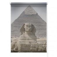 Pyramid sphinx printed blind