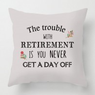The trouble with Retirement cushion