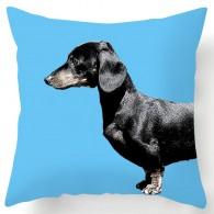 dachshund sausage dog cushion