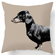 dachshund sausage dog cushion