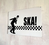 Ska Dancer Retro vintage Sign