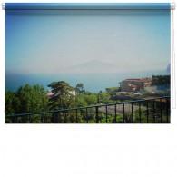 Mount Vesuvius Italy printed blind