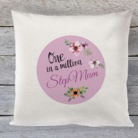 Stepmum Mothers day Linen cushion