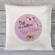 Stepmum Mothers day Linen cushion