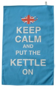 Keep Calm and put the Kettle on TeaTowel