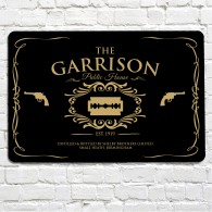 The Garrison public house sign