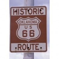 Route 66 canvas art