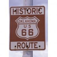 Route 66 canvas art