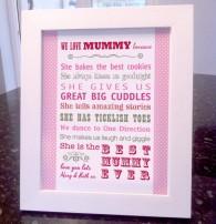 i love mummy because