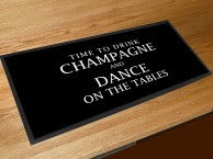 Time to drink champagne and dance on the tables bar runner