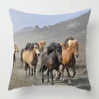 Wild Horses cushion