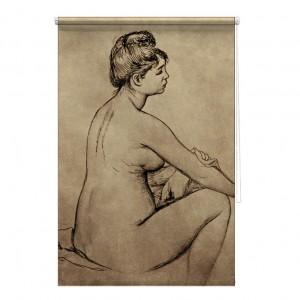 Bather Drying Herself - Auguste Renoir printed blind