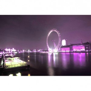 London Eye canvas art