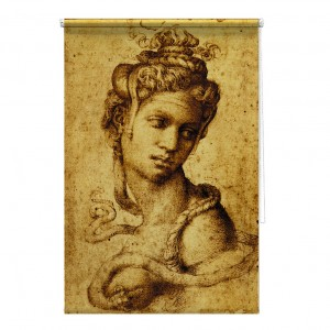 Cleopatra Michelangelo Buonarroti printed blind