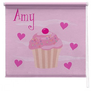Cupcake printed childrens blind
