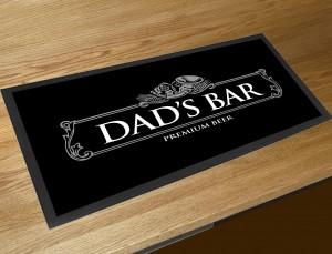 Dads bar runner beer mat