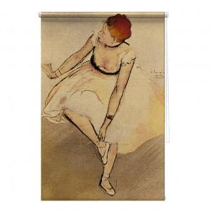 Dancer Edgar Degas printed blind