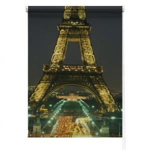 Eiffel Tower paris printed blind