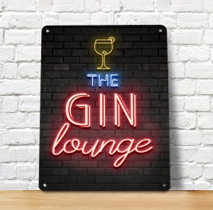 Gin Lounge sign
