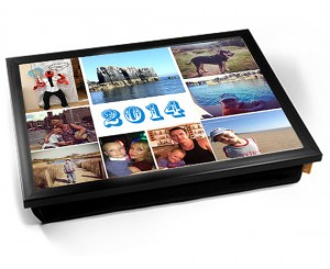 Personalised Montage Photo laptray