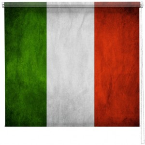 Italian flag Printed Blind