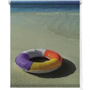 Beach printed blind