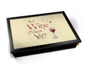 Wine O'Clock laptray