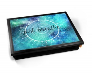 Mandala breathe printed Laptray