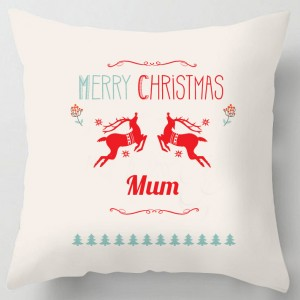 Merry Christmas Mum cushion