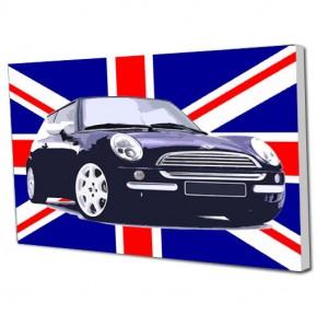 Union Jack Mini canvas art
