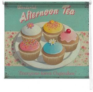 Afternoon Tea printed blind
