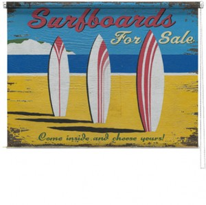 Surfboards printed blind martin wiscombe