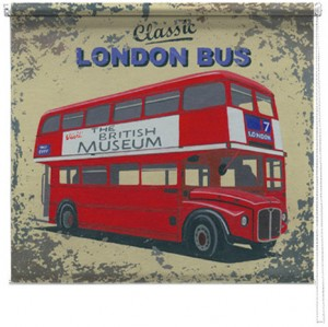London Bus printed blind martin wiscombe