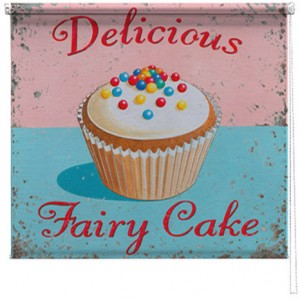 Fairy cakes printed blind martin wiscombe