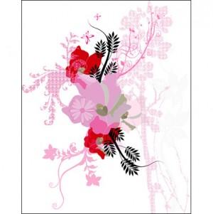 Pink bazaar Canvas Art