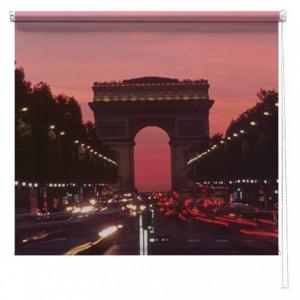 Paris printed blind