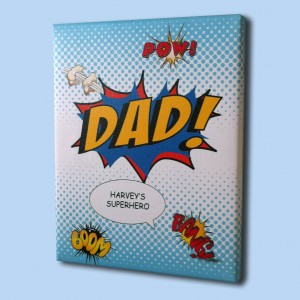 Fathers day Dad comic art print