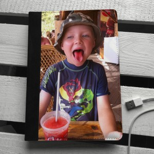 Personalised Photo Leather iPad mini Case