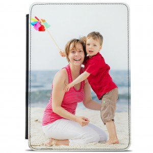 Personalised Photo Faux Leather ipad Flip Case