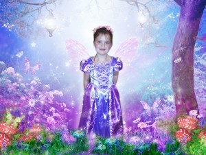 'Fairy Princess' fairytale photo art