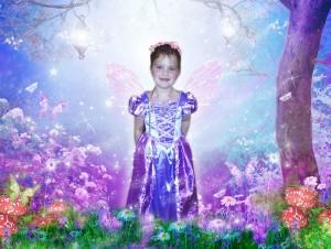 'Fairy Princess' fairytale photo art
