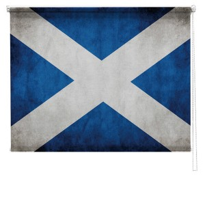 Scottish flag printed blind