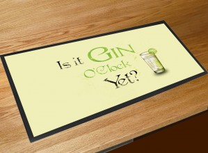 Gin O'clock bar runner